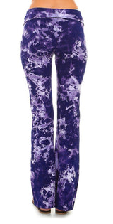 URBAN X Smoke Tie Dye Yoga Pants