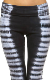 URBAN X Stacked Stripes Tie Dye Yoga Pants