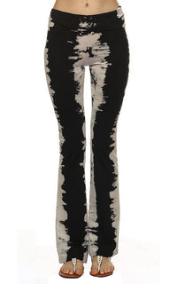 URBAN X Stone Stripe Tie Dye Yoga Pants