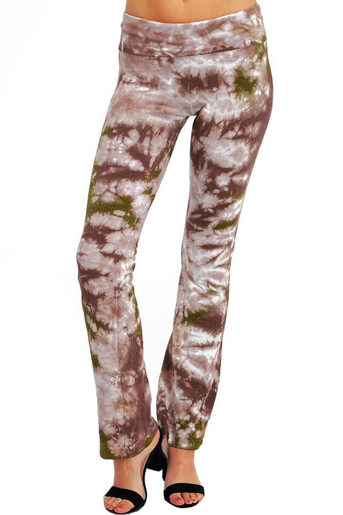 URBAN X Woodland Tie Dye Yoga Pants