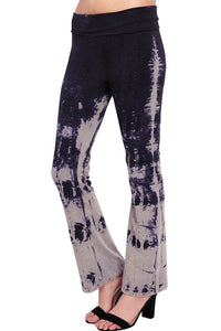 URBAN X Black and Grey Tie Dye Yoga Pants