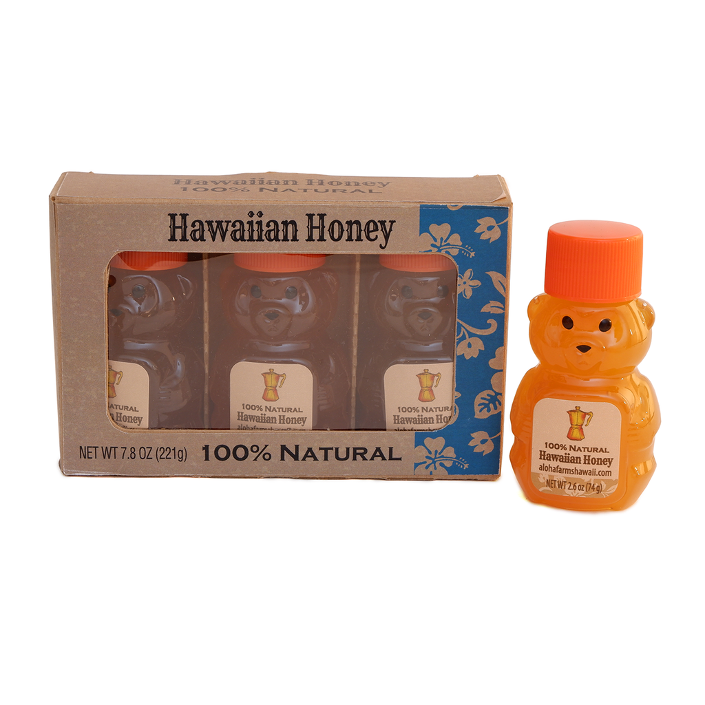 Natural Honey BOX (3 Bears)