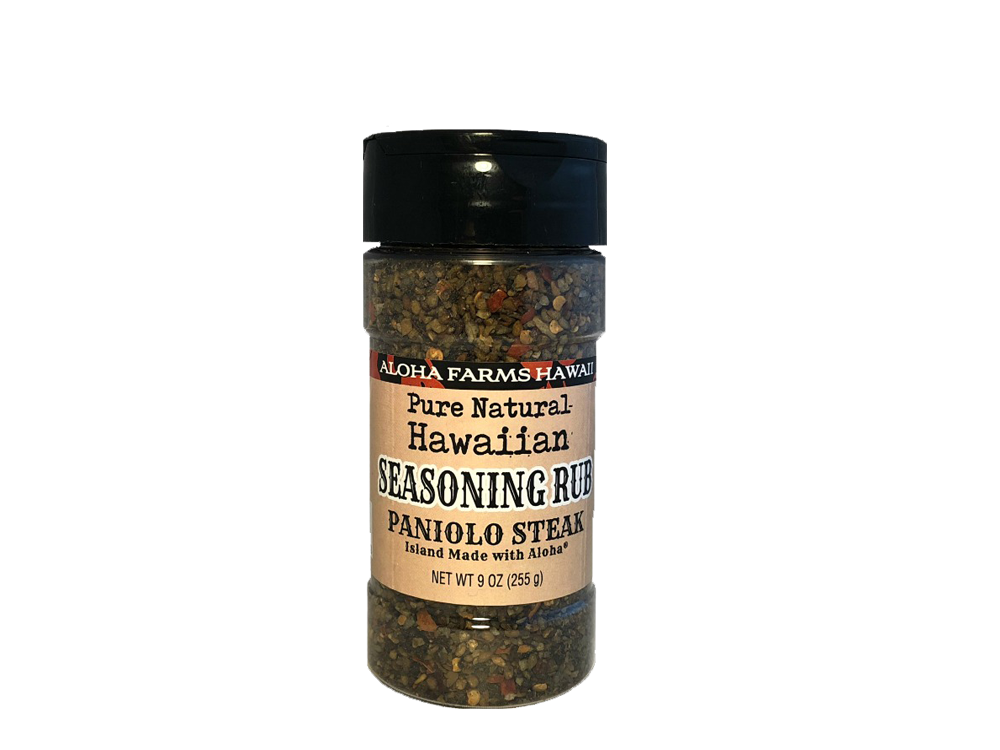 Volcanic Sea Salt - Paniolo Steak Seasoning Rub