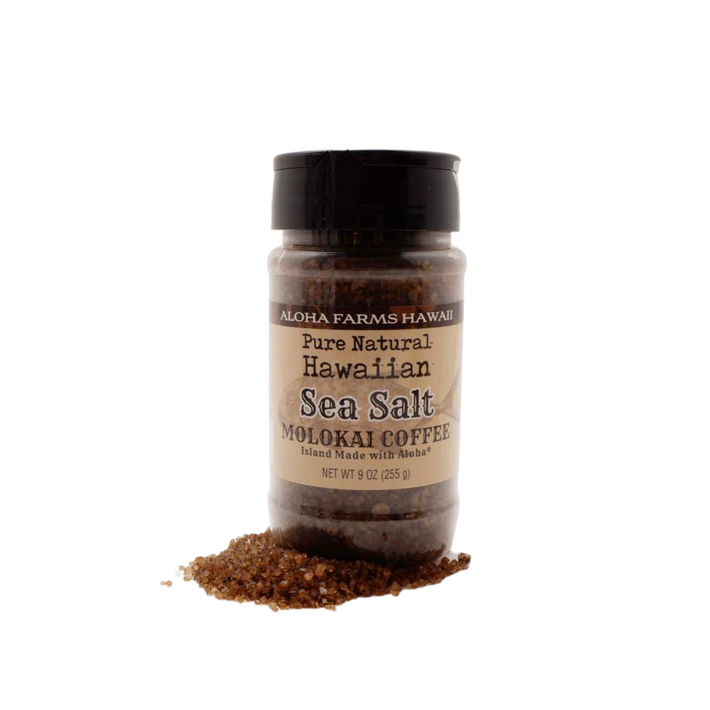 Volcanic Sea Salt - Molokai Coffee