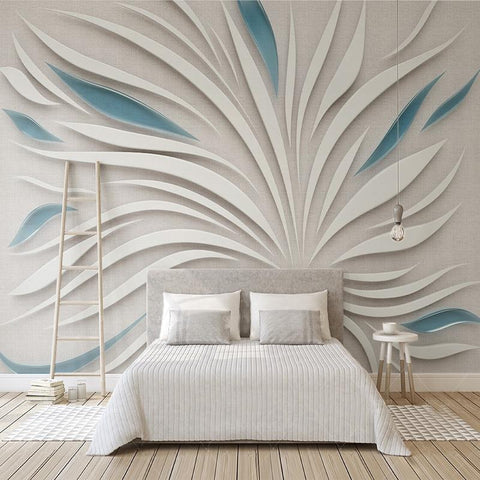 Image of Abstract Petals Wallpaper Mural, Custom Sizes Available Household-Wallpaper Maughon's