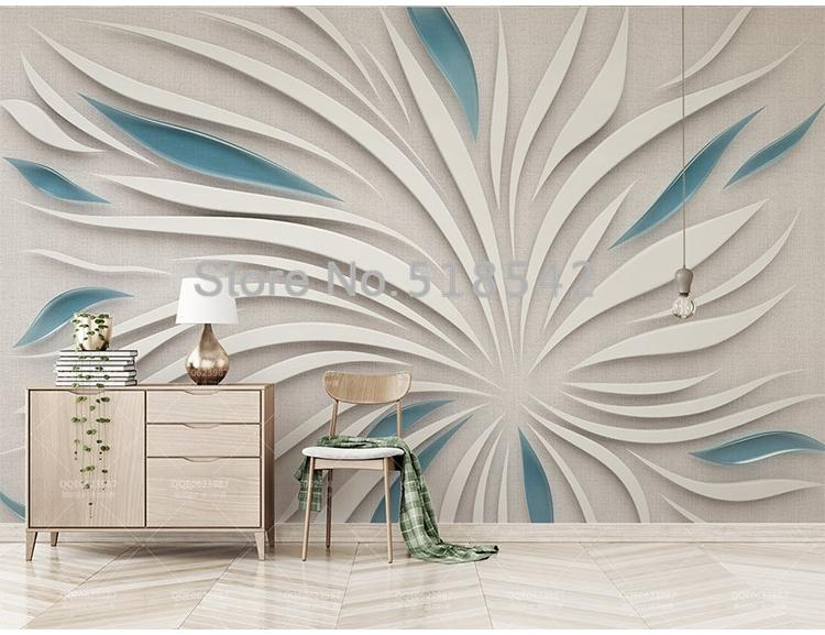 Abstract Petals Wallpaper Mural, Custom Sizes Available Household-Wallpaper Maughon's