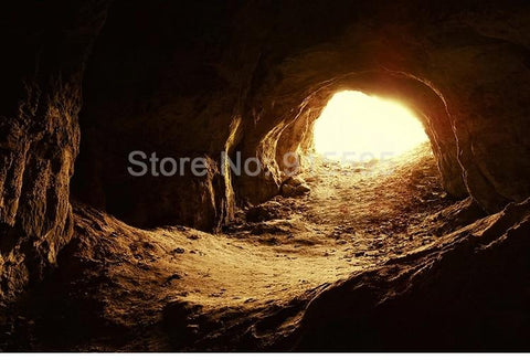 Image of Light at the End of the Cave Wallpaper Mural, Custom Sizes Available Household-Wallpaper Maughon's