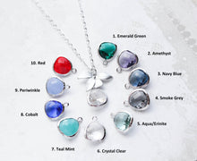 Load image into Gallery viewer, Orchid Pendant Necklace (10 Colors)
