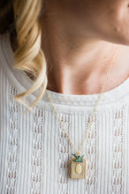 Load image into Gallery viewer, Bird and Book Locket Necklace