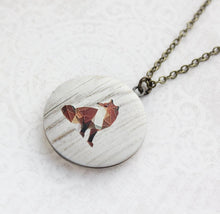 Load image into Gallery viewer, Fox Photo Locket