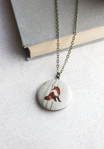 Fox Photo Locket