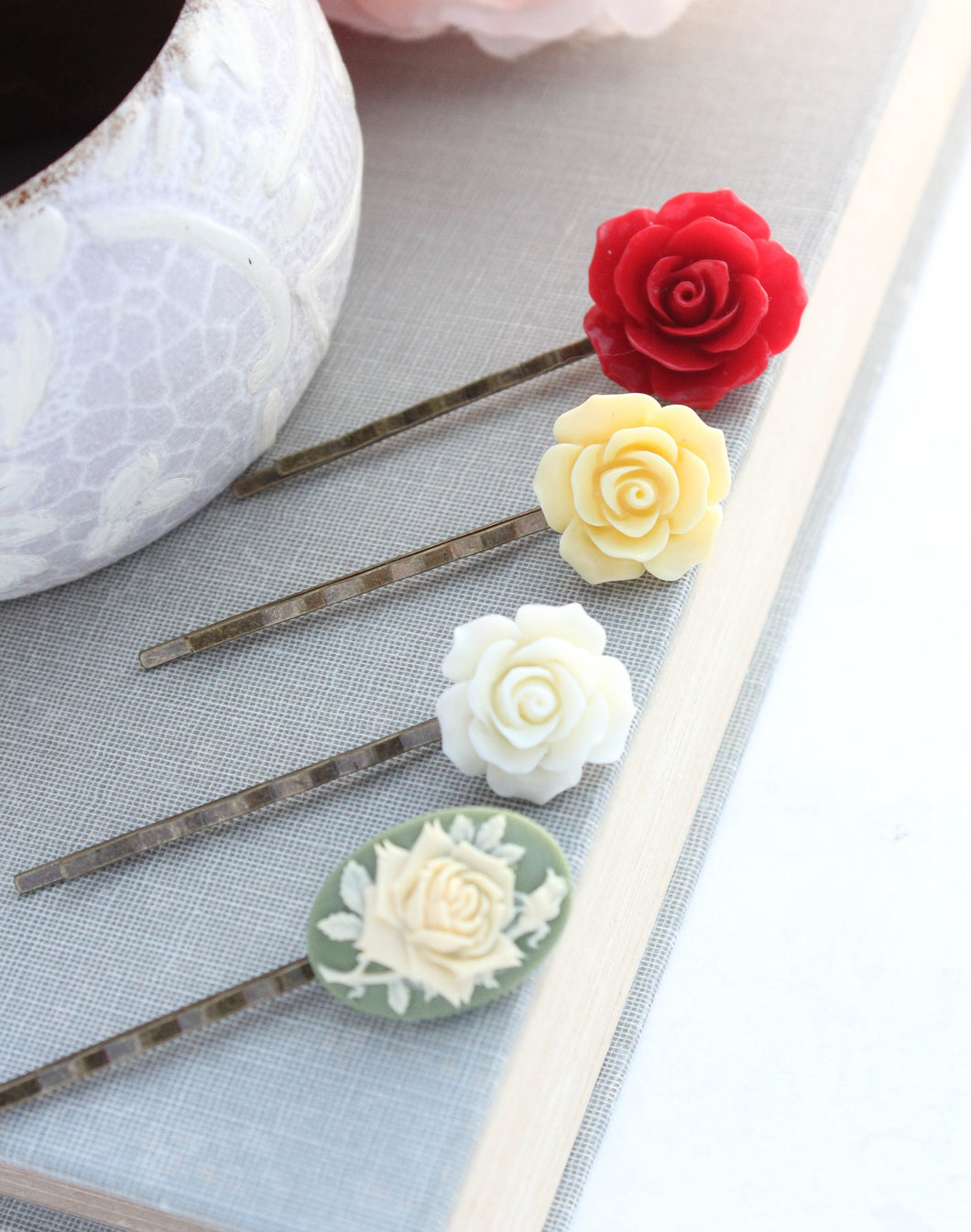 Flower Bobby Pins - BP1201
