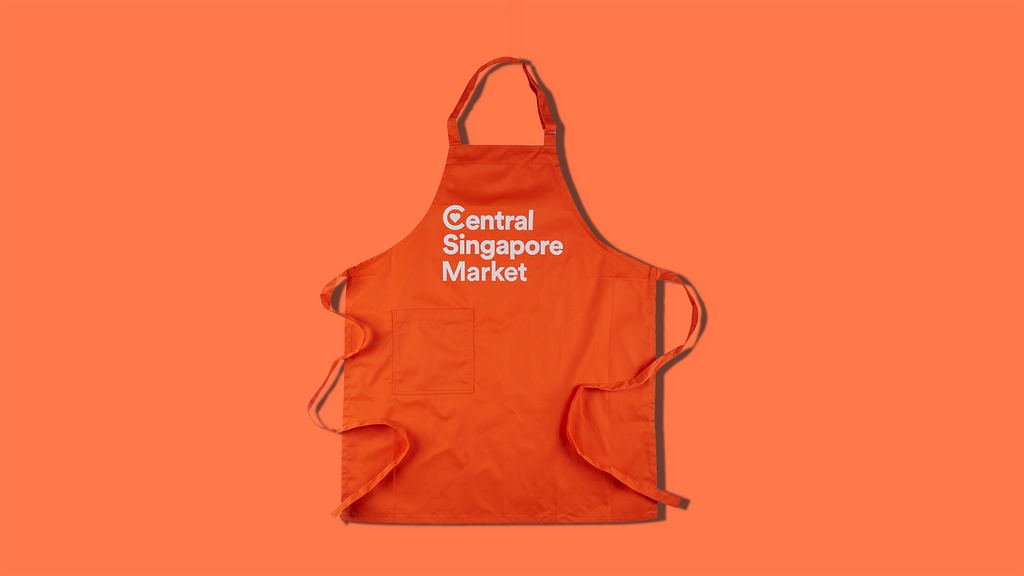 Central Singapore Market Bib Apron