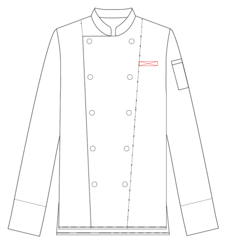 Green Chef Singapore Embroidery Placement Greenchef Singapore