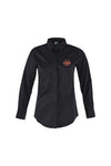 Black Service Shirt L|S, Female