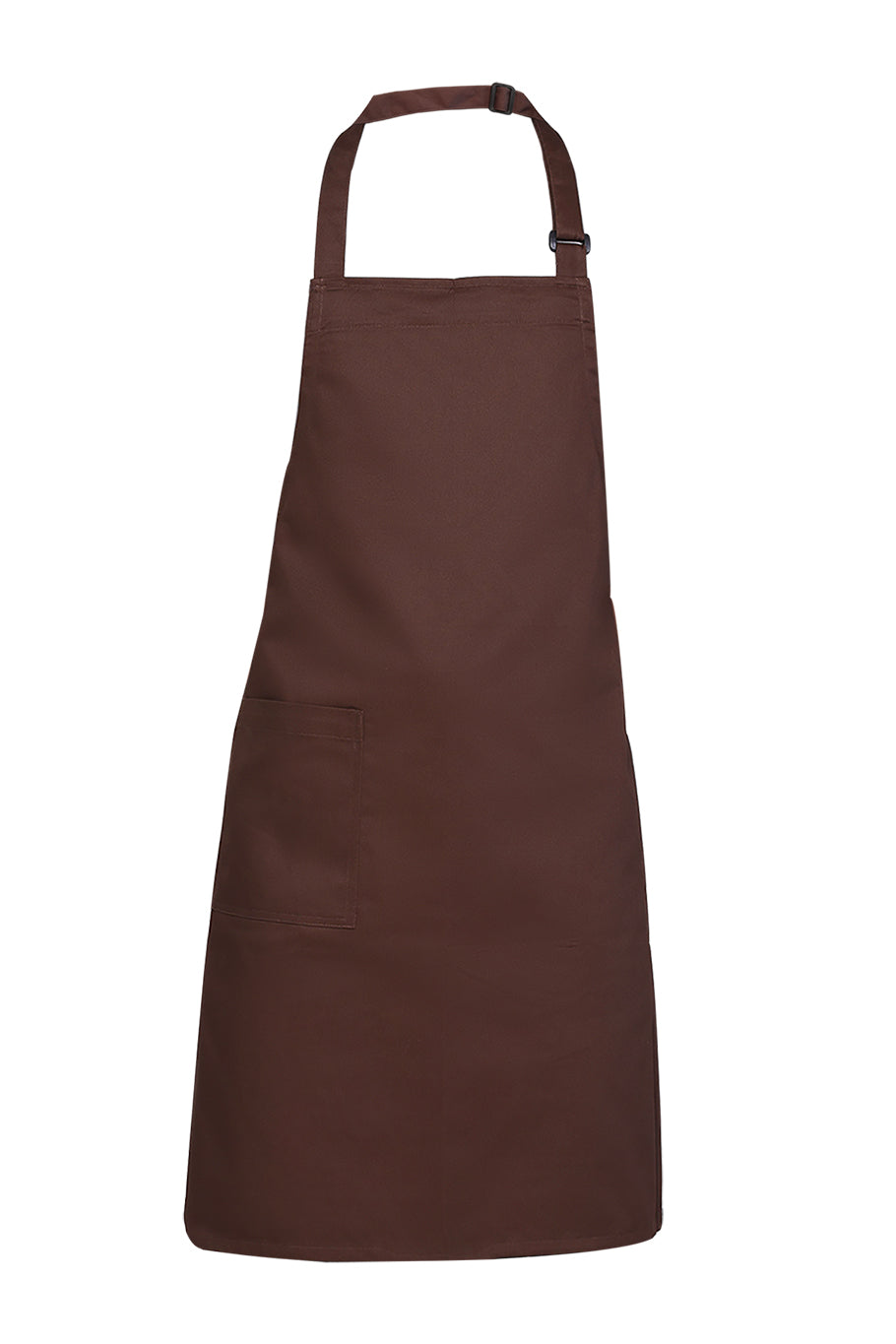 Dark Brown Bib Apron