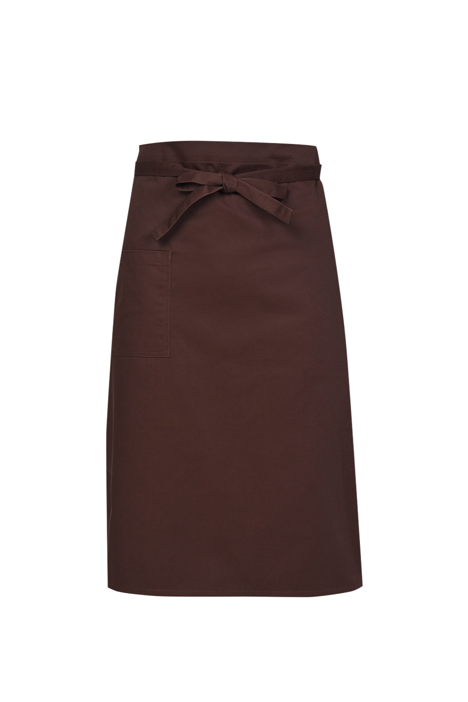 brown chef apron