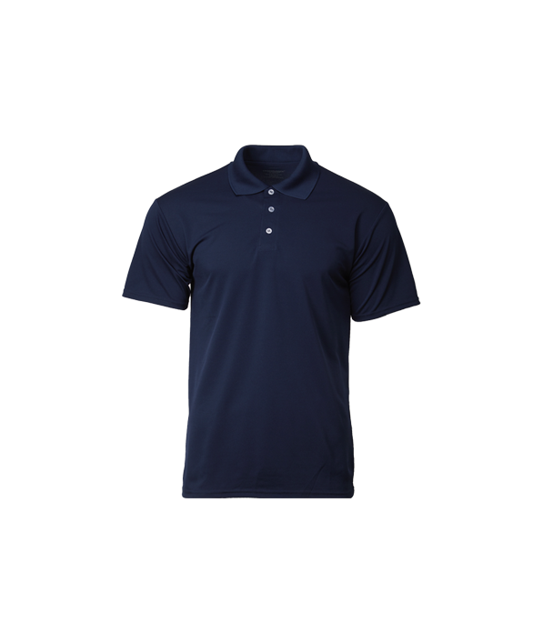 Navy Blue Dri-fit Polo T-Shirt