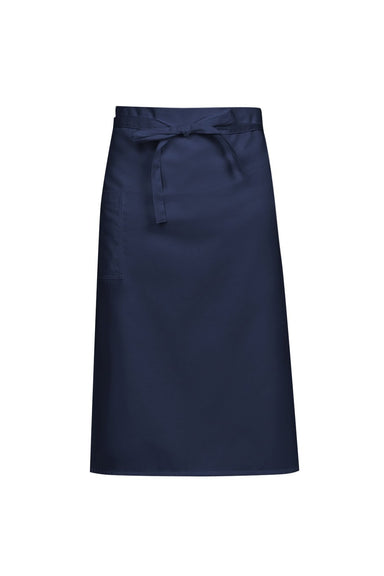 navy blue chef apron