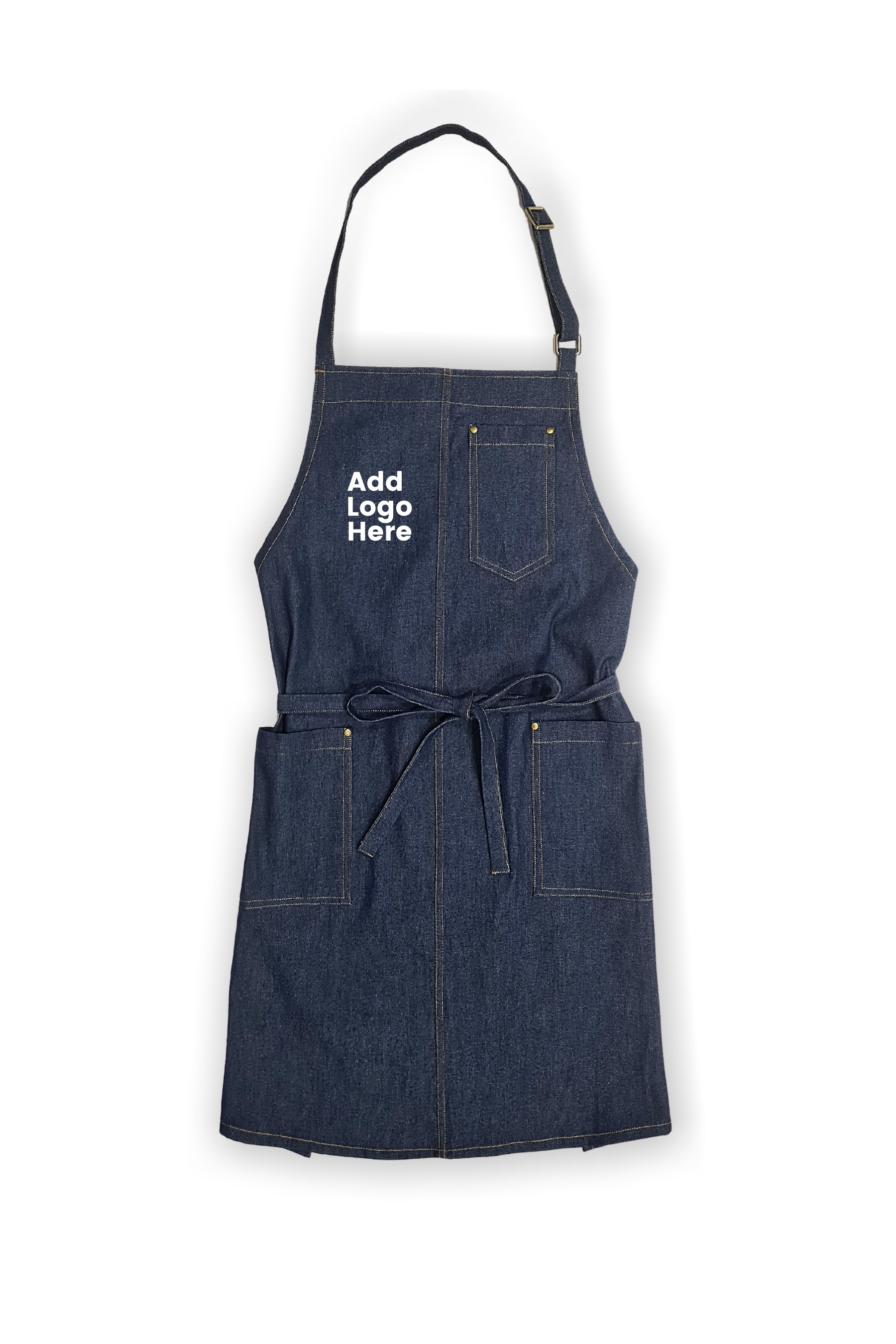 Taylor Blue Denim Bib Apron