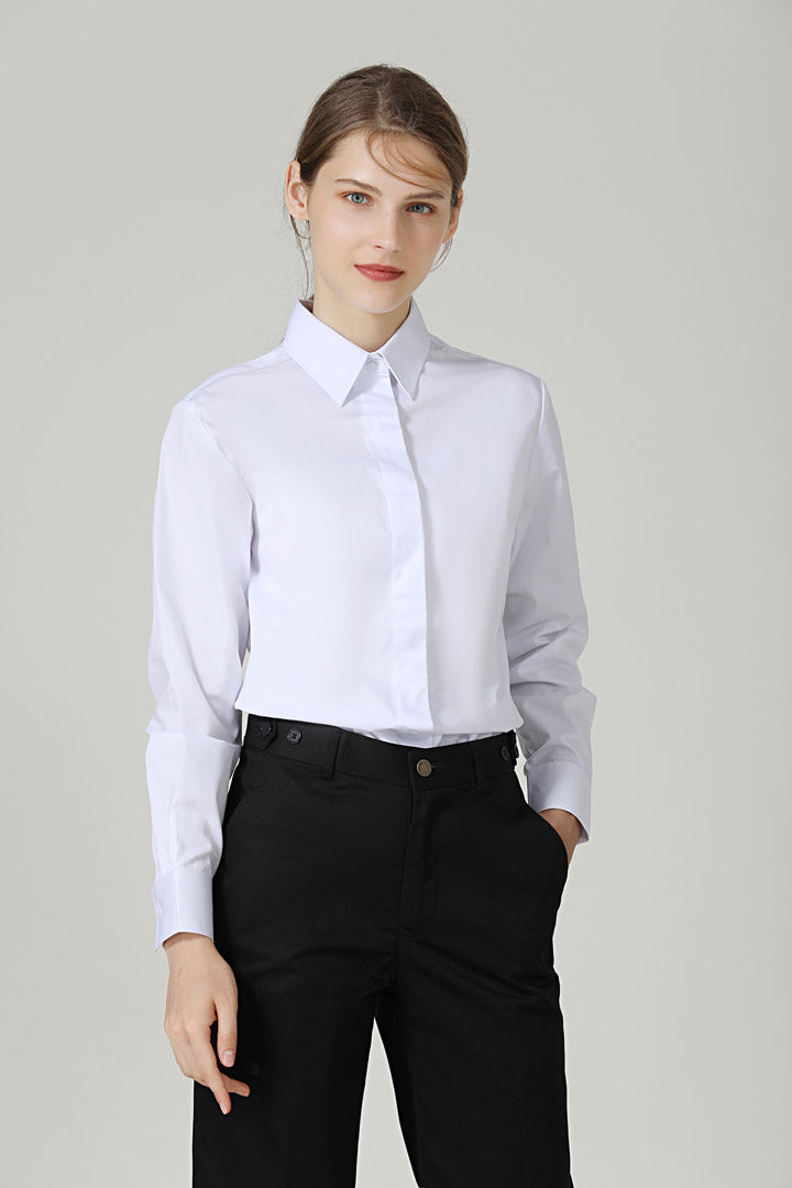 Female White Service Shirt