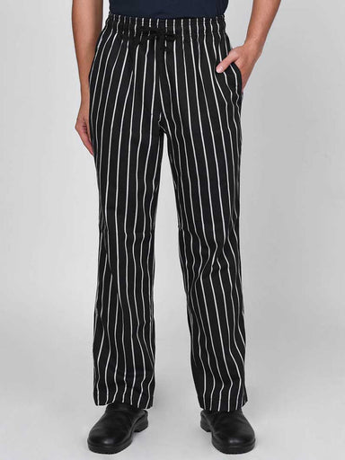Big Stripe Chef Pants
