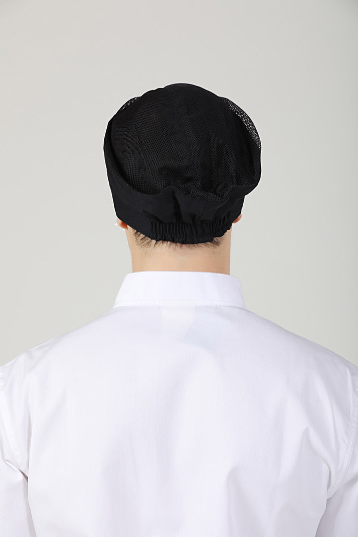 Black Beanie with Vent