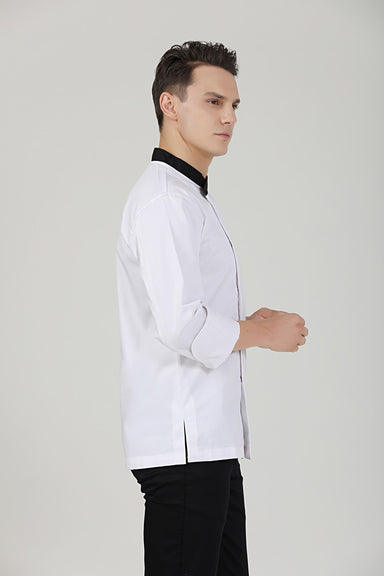 Caper Chef Jacket Side View