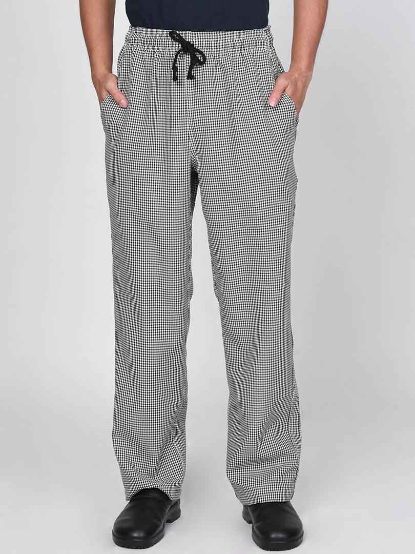 Checkered Chef Pants