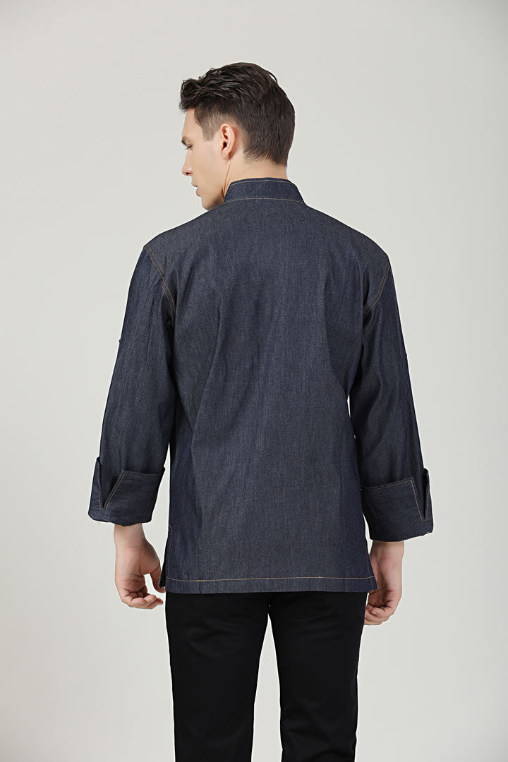 Dill Denim Back View
