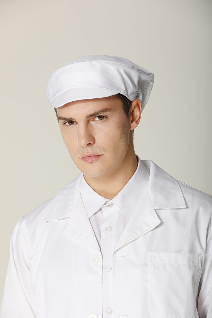 Food Production Cap White