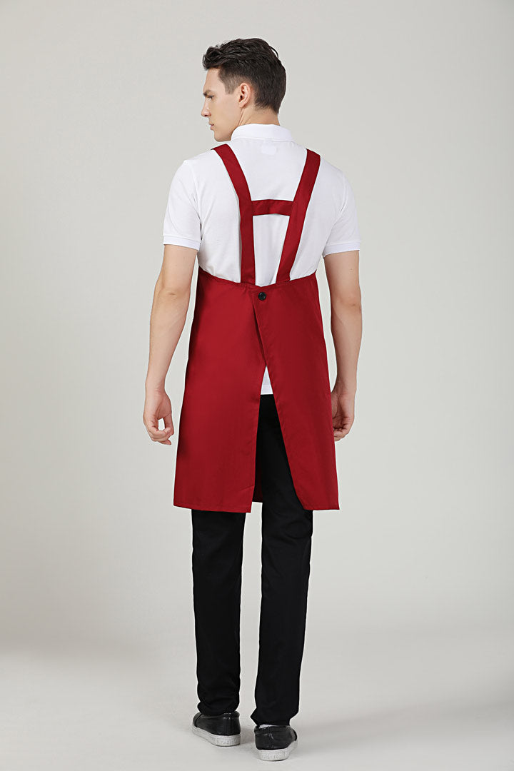 Hansel Red Apron