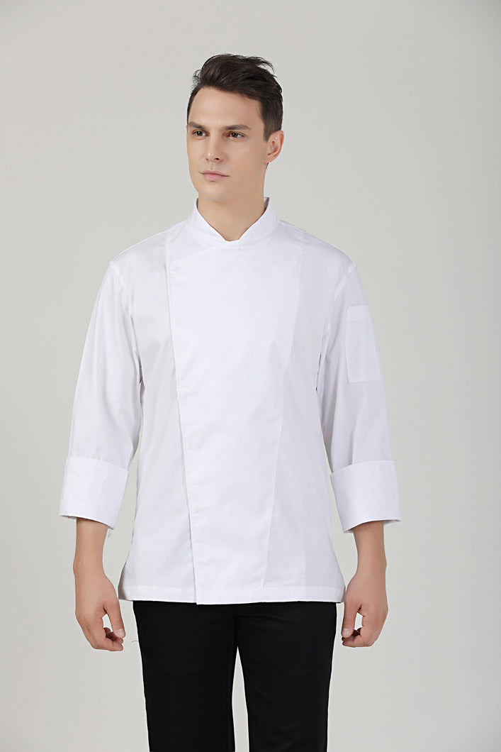 Holly Chef Jacket Front View