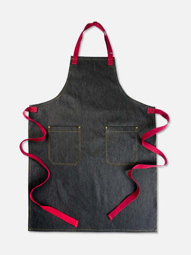 Joey Red Demko Apron