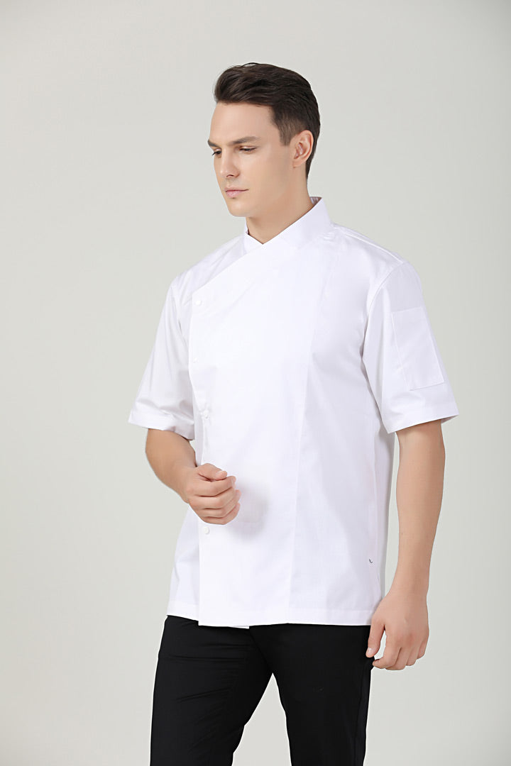 Meiji White Short Sleeve