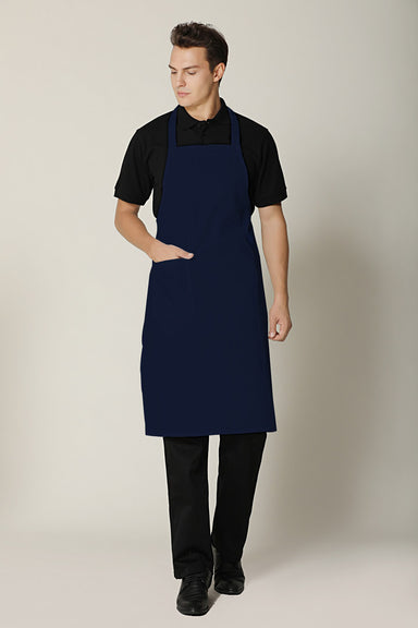 Navy Blue Bib Apron