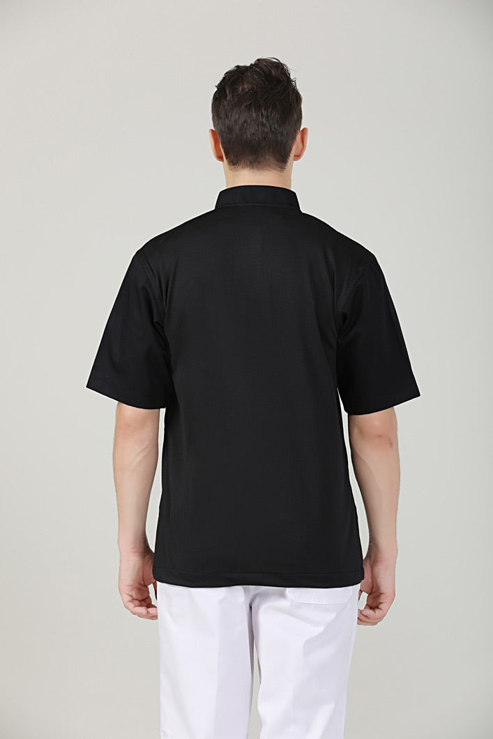 Parsley Black Short Sleeve Back View