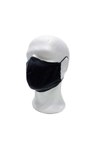 reusable black face mask