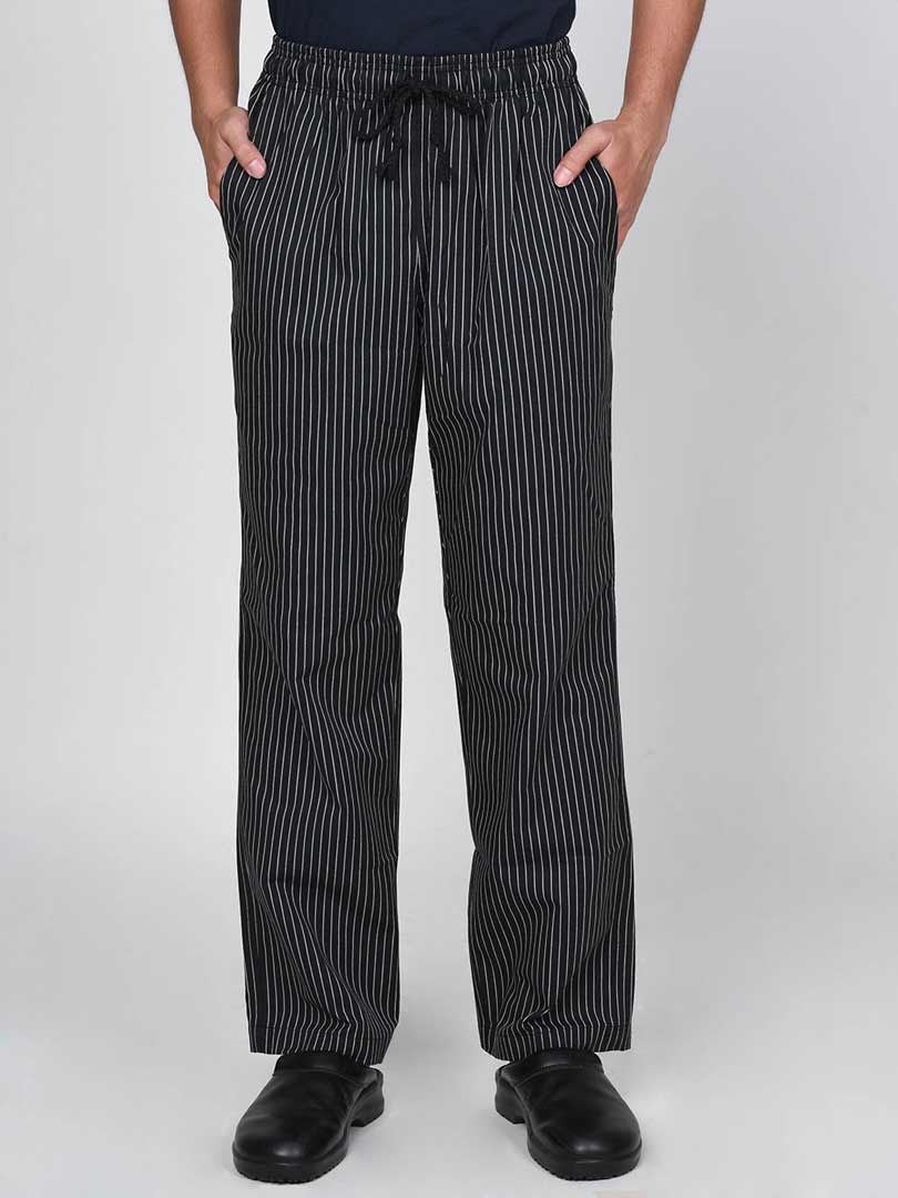 Small Stripe Chef Pants