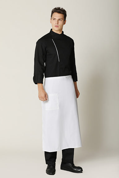White Chef Apron