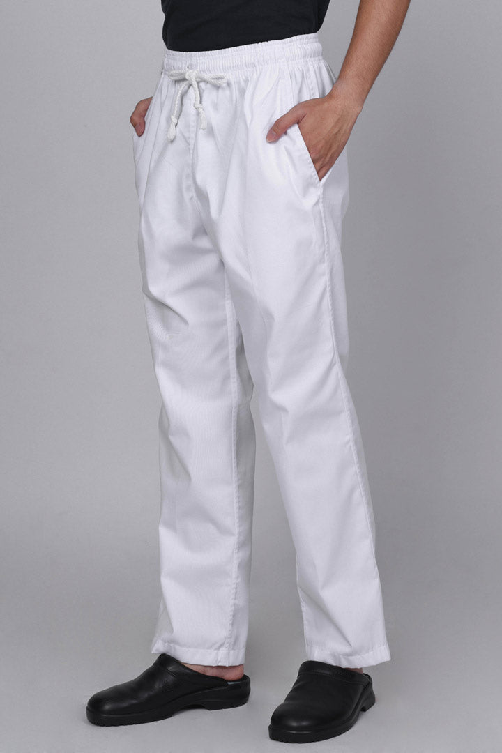 White Chef Pants