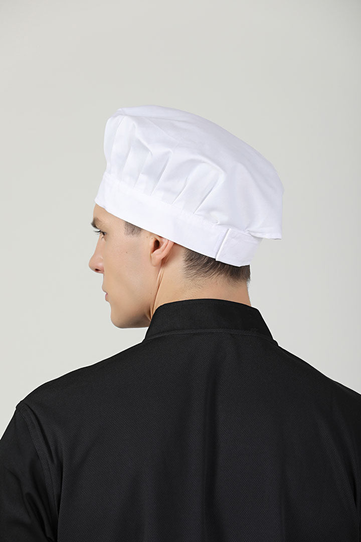 White Toque with Velcro
