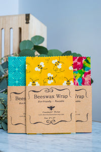 Beeswax Wrap- 3pack