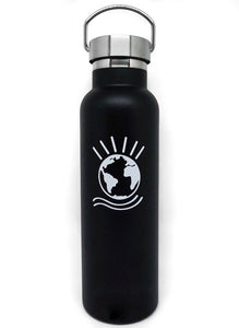 "Globe Water Bottle ""Black"""