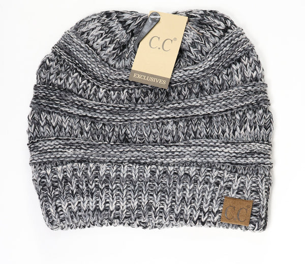 C.C Classic Cable Knit Beanie Hat