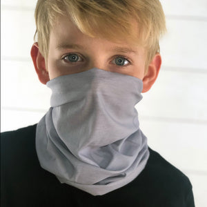 Light Grey Face Mask, Neck Gaiter