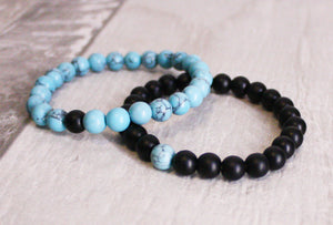Bracelet: Meditation/Couples Distance/Promise (Set of 2 or Single)
