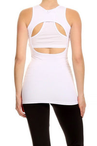 LA Society Cut Out Tank-Top