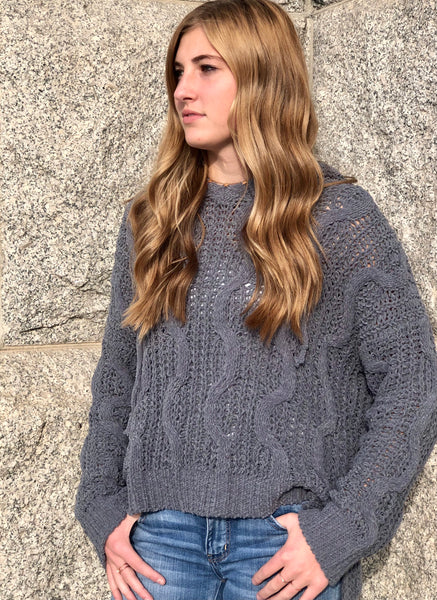 Miracle Sweater 32782 Charcoal