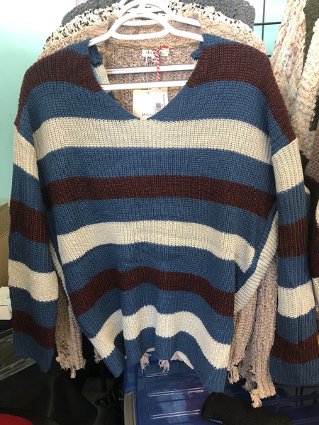 Miracle Sweaters M9077 Blue